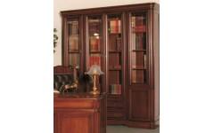 Шкаф Renoir книжный на 4 двери