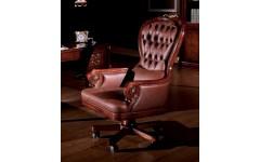 Кресло руководителя (кожаное) Carpenter 223