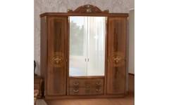 Шкаф 4-х дв. с зеркалами Ассоло