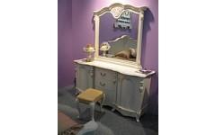 Стол туалетный с зеркалом Коко Шанель