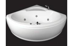 Угловая акриловая ванна  Santana Rialto