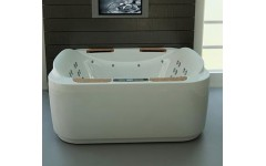 Oriental Express квадратная ванна от WGT
