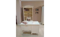 Белый письменный стол с этажеркой Яна, Симекс