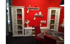 Мебель в гостиную белая Арабеска, Германия
