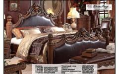 Элитная резная кровать из массива Дель Мондо, Италия
