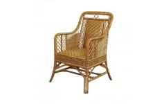 Кресло плетеное для сада из натуральной лозы Черниговчанка, Украина