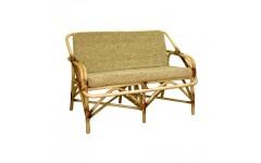 Ротанговый диванчик с подушками №1, Украина