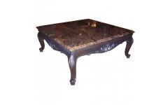 Квадратный приставной столик с мраморной столешницей Босфорд, Франдис