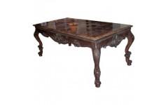Журнальный резной столик с мраморной столешницей Босфорд, Франдис