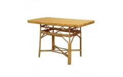 Обеденный прямоугольный плетенный стол, Украина