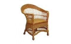 Плетеное кресло для отдыха их лозы Татьяна, Украина