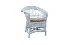 Плетеное кресло из лозы в стиле Прованс, Украина