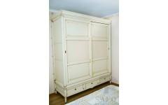 Деревянный шкаф для спальни в стиле Прованс Конвалия, Украина