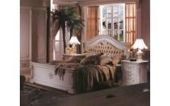 Кровать с мягким изголовьем Изабелла, Карпентер 208, Испания