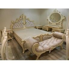 Классическая кровать 1800 в спальный гарнитур Ренессанс