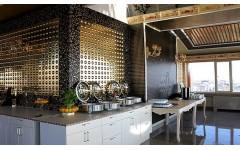 Металлические стеновые панели для декора баров и ресторанов