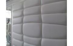 Мягкие стеновые панели из натуральной кожи
