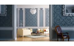 Гипсовые стеновые панели в гостиную комнату