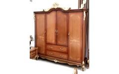 Шкаф четырехдверный в стиле барокко Матильда, Аванти