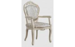 Белый резной стул 325, Китай