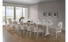 Большой раскладной стол 4500 Артур для ресторанов и кафе, Беллини