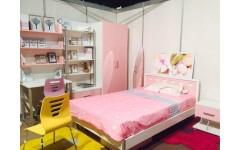 Комплект мебели в спальню для девочки Сердечка, Китай
