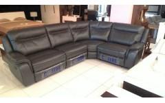 Угловой кожаный диван с двумя реклайнерами 9757M AL 1.5-1M Cheers