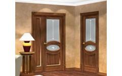 Межкомнатные двери со стеклом в гостиную
