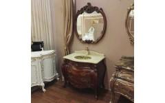 Классическая мебель в цвете орех в ванную, Энигма