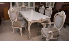 Стол обеденный прямой в гостиную Пале Рояль Энигма