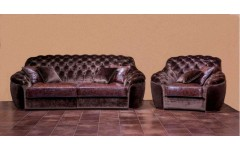 Диван трехместный с креслами Монтеласи(Маурицио), Америка