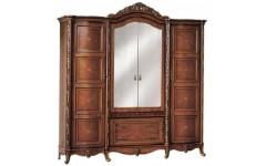 Классический коричневый шкаф в спальный гарнитур Эстелла Китай