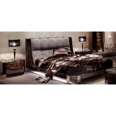 Кровать с мягким изголовьем в стиле Ар- Деко Vogue, Италия