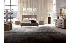 Кровать из массива и натуральной кожи LIFETIME, GIORGIO COLLECTION