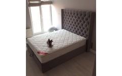 Двухспальная кровать Лофт