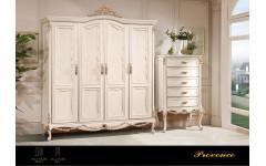 Шкаф для одежды 4 двери Прованс, Америка