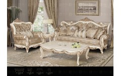 Мягкий диван с креслами в стиле барокко Прованс, Америка