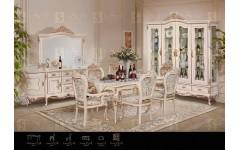 Столовый мебельный гарнитур Прованс в стиле барокко, Инстайл