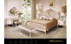 Кровать 1800 в стиле барокко с позолотой Прованс, Америка