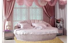 Круглая кровать Маура в спальню