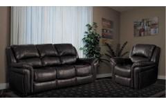 Кожаный диван для гостиной Каспер Joss