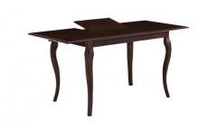 Классический обеденный раздвижной стол Asti Joss в цвете темный орех