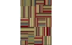 Ковер 26255-088 из натуральных материалов в стиле пэчворк, Балта
