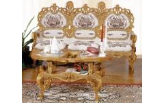 Диван трехмесный с креслами ЛЛ