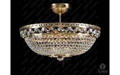 L15 165-09-6 Люстра хрустальная круглая Богемия, Чехия