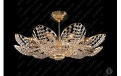L15 719-11-6 Хрустальная люстра в виде цветка, Словакия, Glass LPS