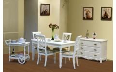 Белая мебель для столовой из МДФ Анабель, Китай