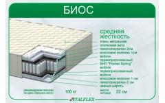 Недорогой ортопедический матрас Биос Украина