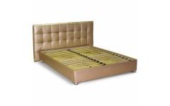 Бежевая кровать подиум №4 Матролюкс