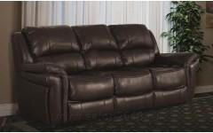 Кожаный диван в цвете темный шоколад Милтон 60108,  JOSS